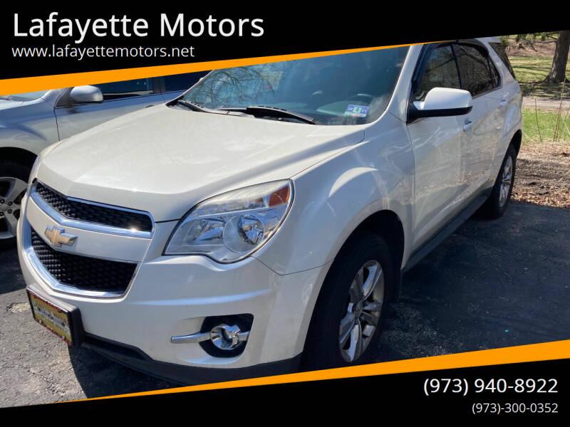 2014 Chevrolet Equinox for sale at Lafayette Motors in Lafayette NJ