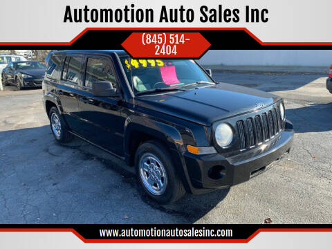 2008 Jeep Patriot for sale at Automotion Auto Sales Inc in Kingston NY