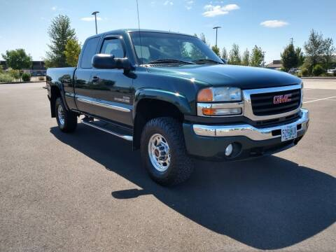 2003 GMC Sierra 2500HD for sale at SWIFT AUTO SALES INC in Salem OR