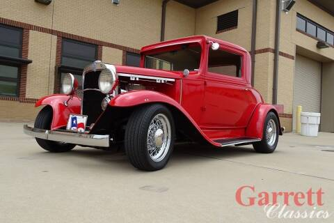 1931 Chevrolet Street Rod for sale at Garrett Classics in Lewisville TX