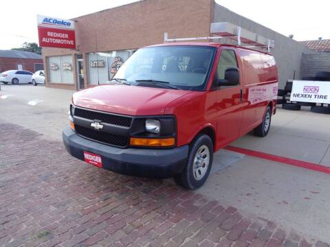 2009 Chevrolet Express Cargo for sale at Rediger Automotive in Milford NE