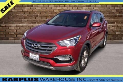 2017 Hyundai Santa Fe Sport for sale at Karplus Warehouse in Pacoima CA