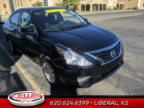 2019 Nissan Versa for sale at Lewis Chevrolet Buick Cadillac of Liberal in Liberal KS
