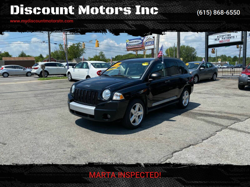 2007 Jeep Compass for sale at Discount Motors Inc in Madison TN