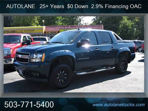 2007 Chevrolet Avalanche for sale at Auto Lane in Portland OR