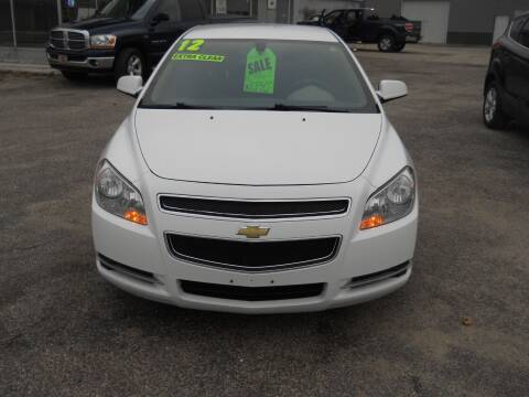 2012 Chevrolet Malibu for sale at Shaw Motor Sales in Kalkaska MI