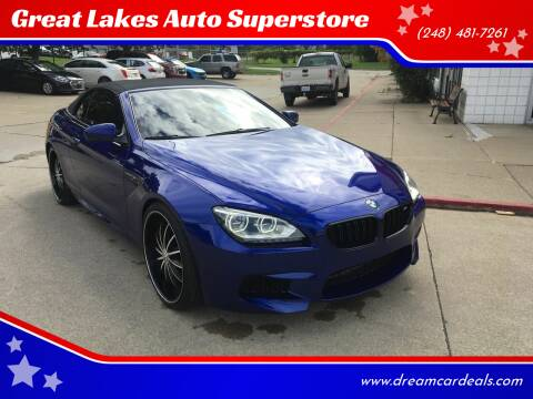 2012 BMW M6 for sale at Great Lakes Auto Superstore in Pontiac MI