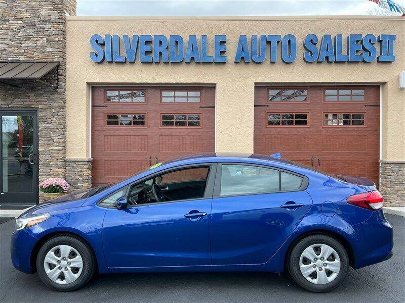 2017 Kia Forte for sale at Silverdale Auto Sales II in Sellersville PA