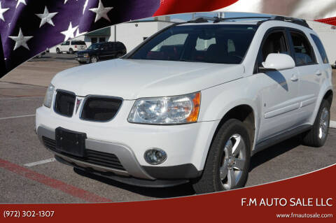 2006 Pontiac Torrent for sale at F.M Auto Sale LLC in Dallas TX