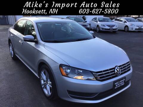 2014 Volkswagen Passat for sale at Mikes Import Auto Sales INC in Hooksett NH