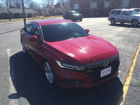 2018 Honda Accord for sale at DEALS ON WHEELS in Moulton AL