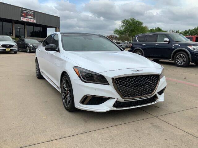 2018 Genesis G80 for sale at KIAN MOTORS INC in Plano TX