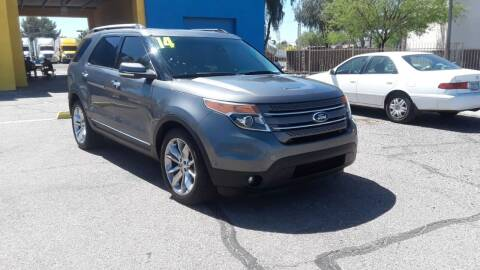 2014 Ford Explorer for sale at CAMEL MOTORS in Tucson AZ