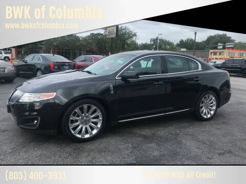 2012 Lincoln MKS for sale at BWK of Columbia in Columbia SC