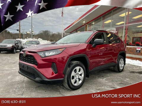 2020 Toyota RAV4 for sale at USA Motor Sport inc in Marlborough MA