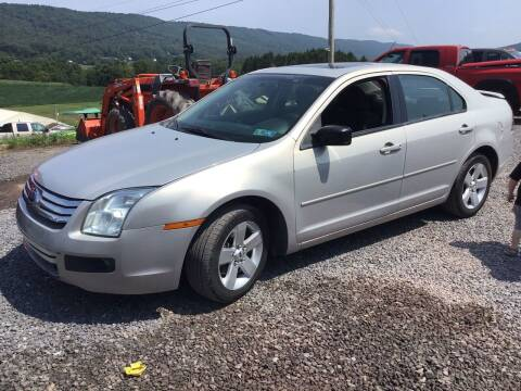 2009 Ford Fusion for sale at Troys Auto Sales in Dornsife PA