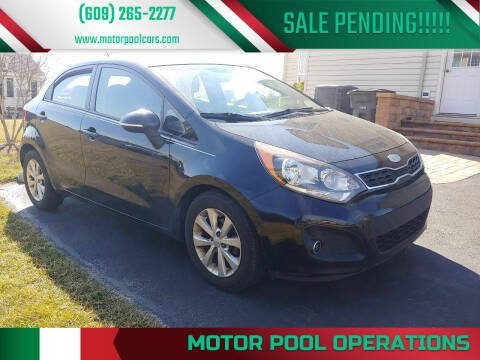2013 Kia Rio 5-Door for sale at Motor Pool Operations in Hainesport NJ