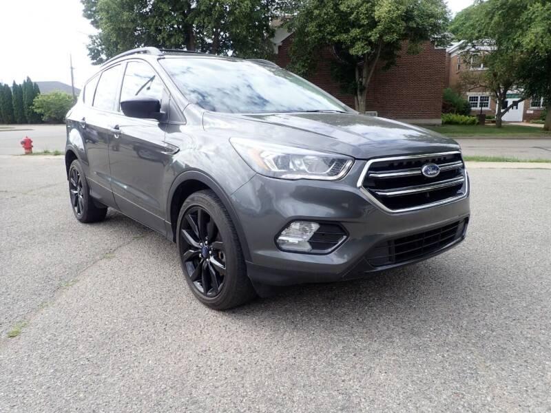 2017 Ford Escape for sale at Marvel Automotive Inc. in Big Rapids MI
