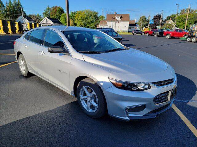 2016 Chevrolet Malibu for sale at Frenchie's Chevrolet and Selects in Massena NY