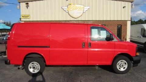 2017 GMC Savana Cargo for sale at Vans Of Great Bridge in Chesapeake VA