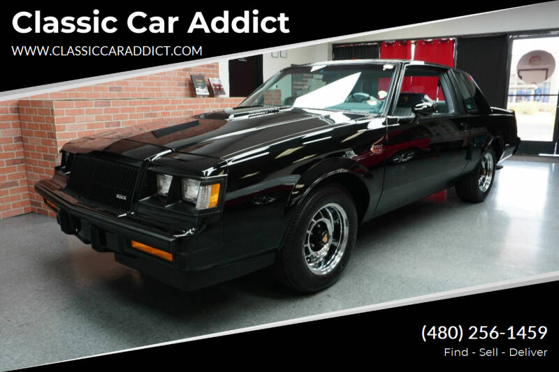 1987 Buick Regal for sale at Classic Car Addict in Mesa AZ