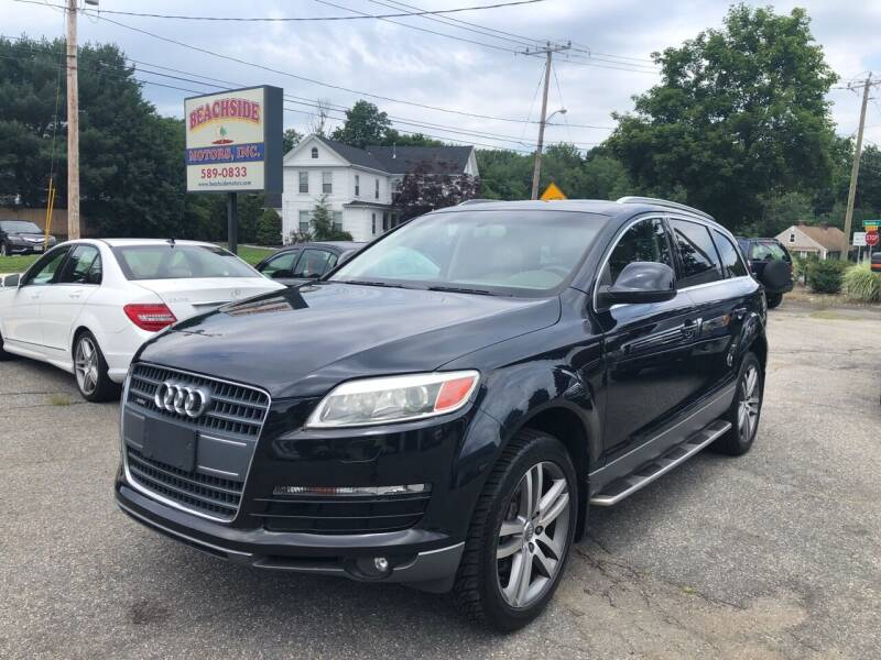 2007 Audi Q7 for sale at Beachside Motors, Inc. in Ludlow MA