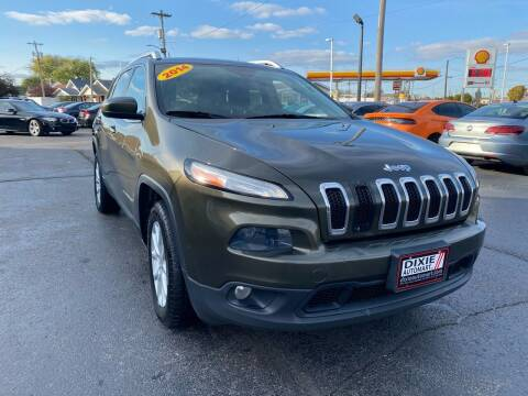 2014 Jeep Cherokee for sale at Dixie Automart LLC in Hamilton OH