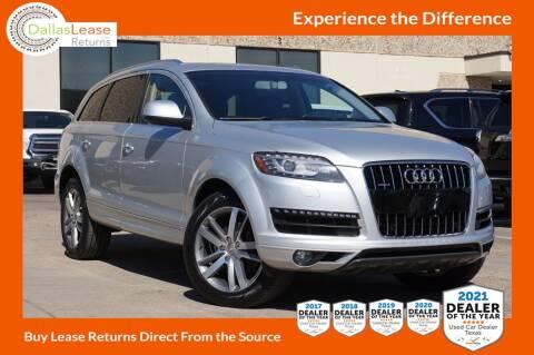 2014 Audi Q7 for sale at Dallas Auto Finance in Dallas TX