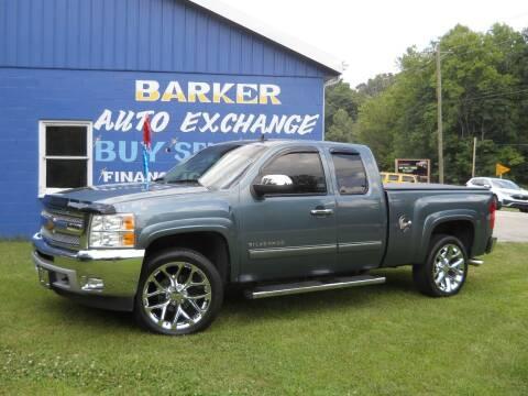2013 Chevrolet Silverado 1500 for sale at BARKER AUTO EXCHANGE in Spencer IN