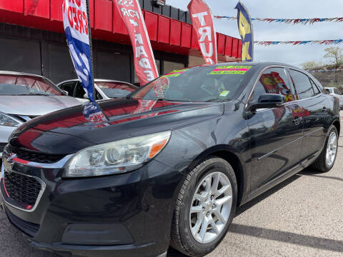 2015 Chevrolet Malibu for sale at Duke City Auto LLC in Gallup NM