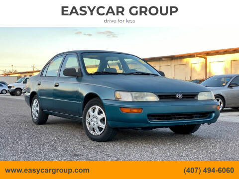 1995 Toyota Corolla for sale at EASYCAR GROUP in Orlando FL