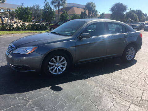 2012 Chrysler 200 for sale at CAR-RIGHT AUTO SALES INC in Naples FL