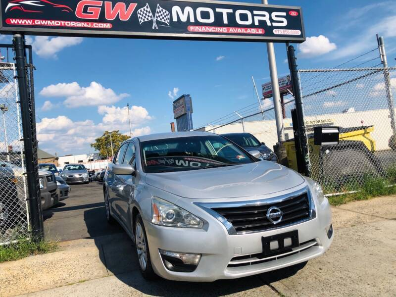 2013 Nissan Altima for sale at GW MOTORS in Newark NJ