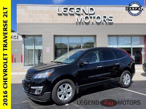 2016 Chevrolet Traverse for sale at Legend Motors of Waterford in Waterford MI