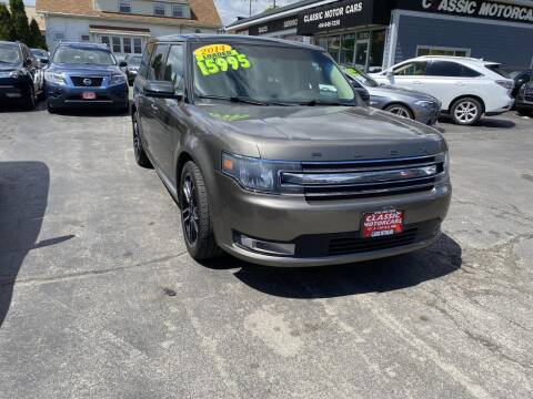 2014 Ford Flex for sale at CLASSIC MOTOR CARS in West Allis WI