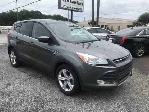 2014 Ford Escape for sale at J & D Auto Sales in Dalton GA
