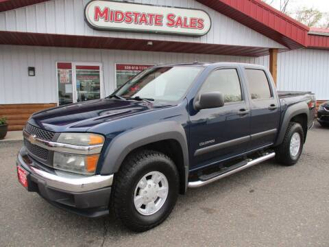 2004 Chevrolet Colorado for sale at Midstate Sales in Foley MN