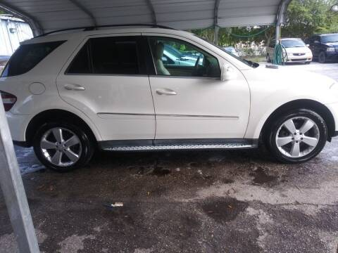 2010 Mercedes-Benz M-Class for sale at Royal Auto Mart in Tampa FL