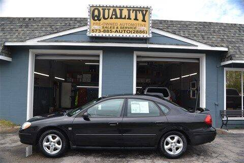 2003 Ford Taurus for sale at Quality Pre-Owned Automotive in Cuba MO