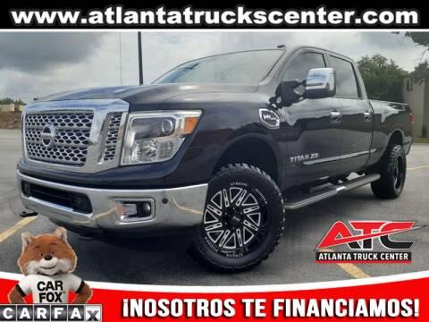 2017 Nissan Titan XD for sale at ATLANTA TRUCK CENTER LLC in Brookhaven GA