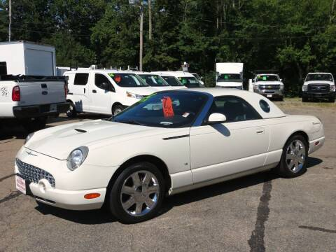 2002 Ford Thunderbird for sale at Auto Towne in Abington MA