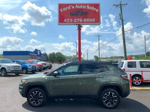 2021 Jeep Compass for sale at Ford's Auto Sales in Kingsport TN