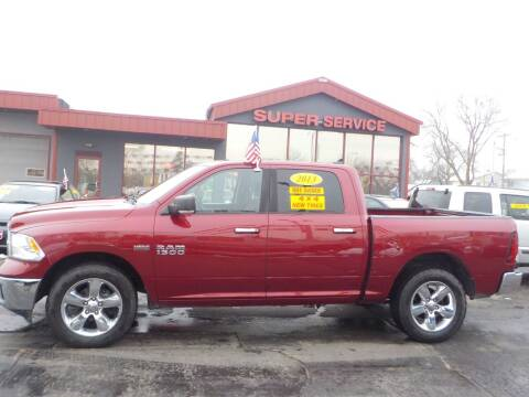 2013 RAM Ram Pickup 1500 for sale at Super Service Used Cars in Milwaukee WI