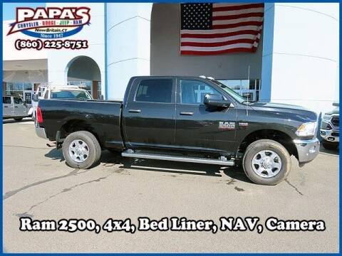 2016 RAM Ram Pickup 2500 for sale at Papas Chrysler Dodge Jeep Ram in New Britain CT