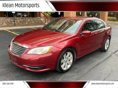 2012 Chrysler 200 for sale at Klean Motorsports in Skokie IL
