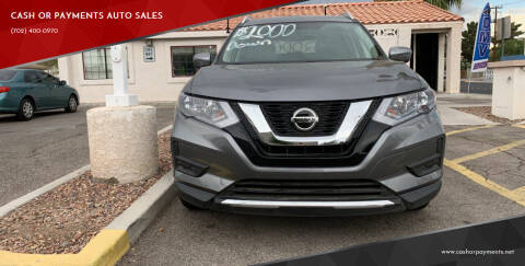 2018 Nissan Rogue for sale at CASH OR PAYMENTS AUTO SALES in Las Vegas NV