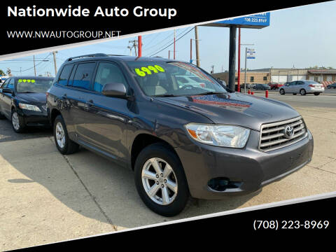 2008 Toyota Highlander for sale at Nationwide Auto Group in Melrose Park IL