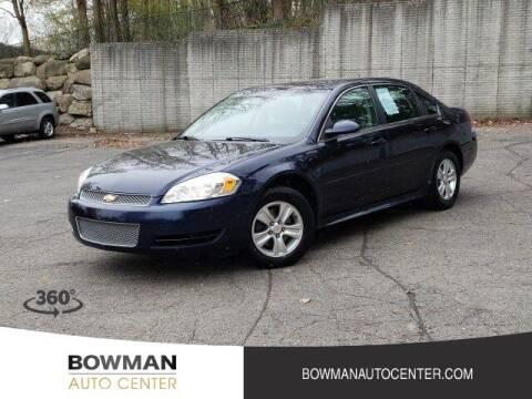 2012 Chevrolet Impala for sale at Bowman Auto Center in Clarkston MI