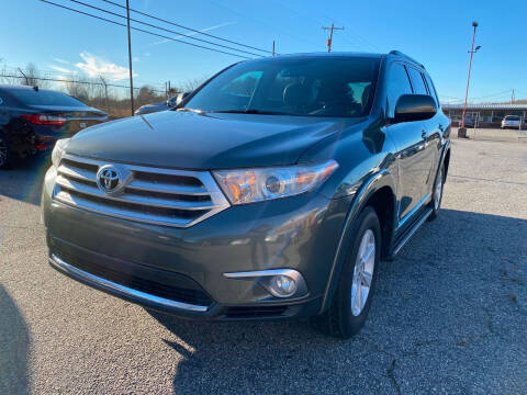 2012 Toyota Highlander for sale at Signal Imports INC in Spartanburg SC