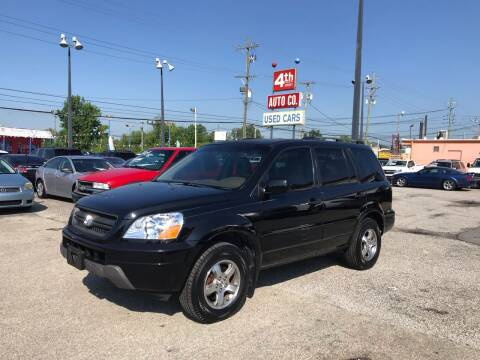 2004 Honda Pilot for sale at 4th Street Auto in Louisville KY